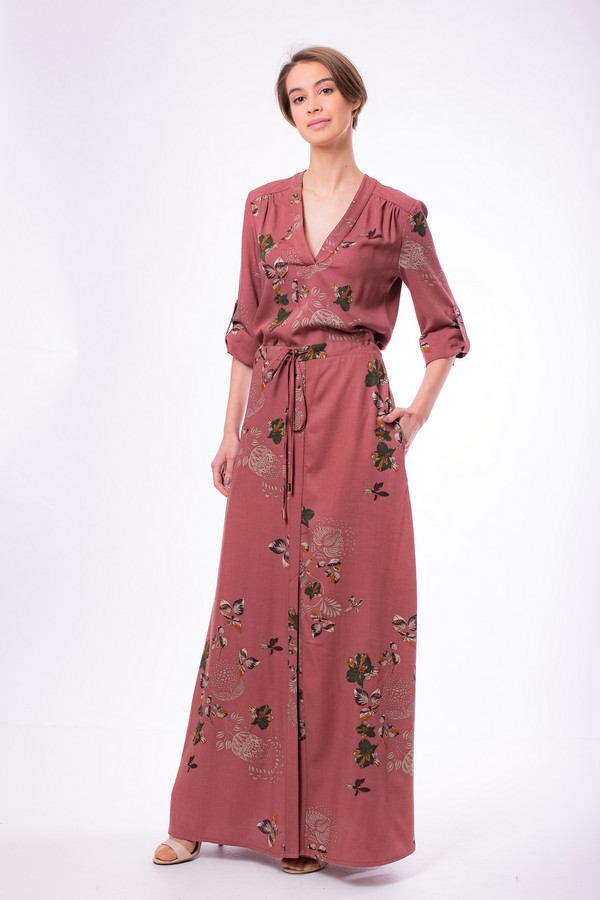 Фото - Женское платье Argent красного цвета