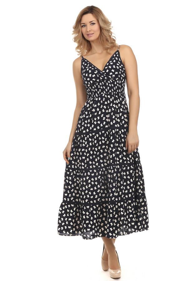 Длинное платье LocustДлинные платья<br>Изумительное длинное платье Locust. Такое платье подойдет и стройным девушкам и женщинам с формами, так как оно с красивым декольте. Так же будет удобным для беременных, благодаря тому, что оно свободное от груди. Платье на бретельках, длину которых можно регулировать, украшенное тонкими кружевными лентами, а его юбка с оборками. Состав материала полностью состоит из хлопка, а потому оно очень приятно к телу.<br><br>Размер RU: 48-50<br>Пол: Женский<br>Возраст: Взрослый<br>Материал: хлопок 100%<br>Цвет: Белый