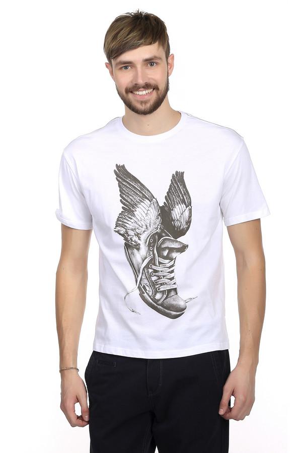 Футболкa LocustФутболки<br>Футболка для мужчин от марки Locust. Это футболка классического покроя. Изделие дополнено: круглым воротником и коротким рукавами длиной до середины плеча. Футболка выполнена в белом цвете с оригинальным монохромным принтом контрастного цвета. Футболка пошита из абсолютно натурального материала - из 100% хлопка.<br><br>Размер RU: 52-54<br>Пол: Мужской<br>Возраст: Взрослый<br>Материал: хлопок 100%<br>Цвет: Серый