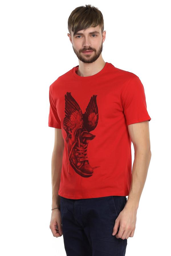 Футболкa LocustФутболки<br>Футболка для мужчин от марки Locust. Это футболка классического покроя. Изделие дополнено: круглым воротником и коротким рукавами длиной до середины плеча. Футболка выполнена в ярко-красном цвете с оригинальным монохромным принтом контрастного цвета. Футболка пошита из абсолютно натурального материала - из 100% хлопка.<br><br>Размер RU: 50-52<br>Пол: Мужской<br>Возраст: Взрослый<br>Материал: хлопок 100%<br>Цвет: Серый