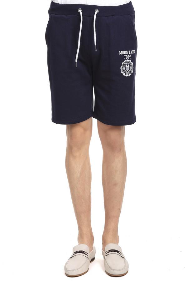Шорты PezzoШорты<br>Спортивные мужские шорты торговой марки Pezzo на резинке со шнурком. Изделие выполнено в синем цвете с белыми эмблемами. Состав - 65% хлопка и 35% полиэстера. Модель дополнена двумя скрытыми боковыми карманами сверху и одним накладным карманом с эмблемой сзади.<br><br>Размер RU: 52<br>Пол: Мужской<br>Возраст: Взрослый<br>Материал: полиэстер 35%, хлопок 65%<br>Цвет: Белый