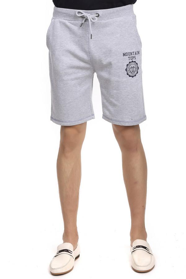 Шорты PezzoШорты<br>Спортивные мужские шорты торговой марки Pezzo на резинке со шнурком. Изделие выполнено в светло-сером цвете с темно-синими эмблемами. Состав - 65% хлопка и 35% полиэстера. Модель дополнена двумя скрытыми боковыми карманами сверху и одним накладным карманом с эмблемой сзади.<br><br>Размер RU: 54<br>Пол: Мужской<br>Возраст: Взрослый<br>Материал: полиэстер 35%, хлопок 65%<br>Цвет: Синий