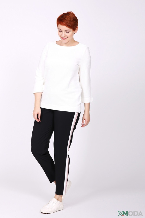 Фото 2 - Женскую блузку Via Appia белого цвета