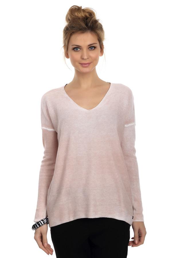 Пуловер Tom TailorПуловеры<br>Слегка удлиненный женский пуловер от бренда Tom Tailor бежевого цвета в сочетании с белым цветом швов. Это модель мелкой вязки с удлиненным кроем линии плеча. Она дополнена длинным рукавом и U-образным вырезом. Внизу пуловер дополнен эмблемой бренда. Состав материала данного изделия - 100% хлопок.<br><br>Размер RU: 46-48<br>Пол: Женский<br>Возраст: Взрослый<br>Материал: хлопок 100%<br>Цвет: Бежевый