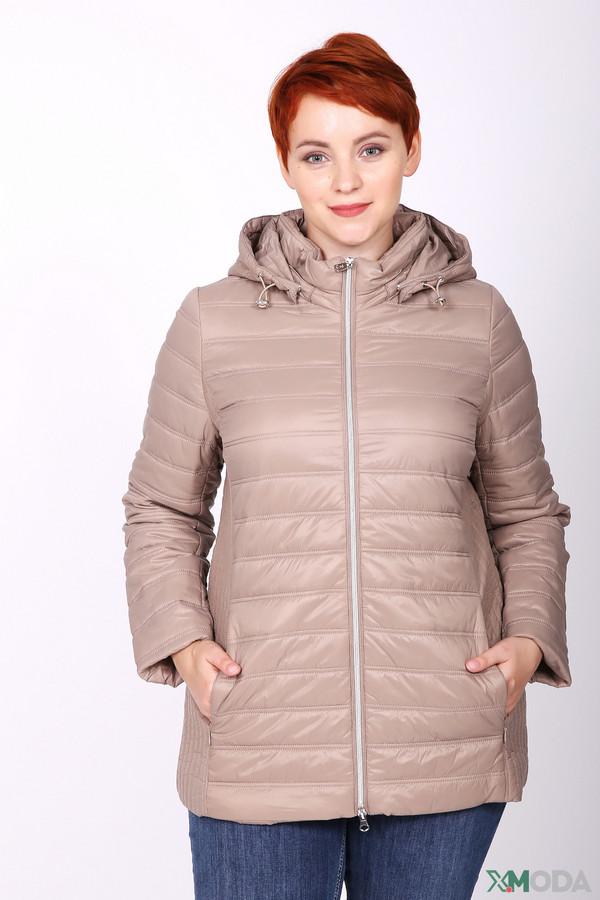 женская куртка pezzo, бежевая