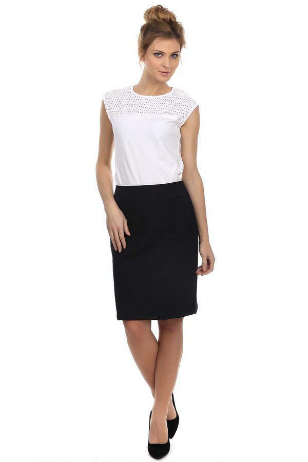 Юбка SteilmannЮбки<br>Минималистичная юбка Steilmann черного цвета. Это изделие выполнено из вискозы, полиэстера и эластана. Дополнена застежкой в виде молнии сзади. Такая модель хорошо подойдет для офисного стиля. Юбку можно носить в любое время года. Это изделие может стать прекрасной базовой вещью гардероба.<br><br>Размер RU: 42<br>Пол: Женский<br>Возраст: Взрослый<br>Материал: эластан 5%, вискоза 33%, полиэстер 62%<br>Цвет: Чёрный