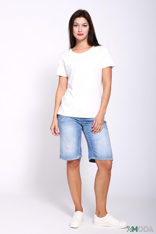 женские шорты cambio, синие