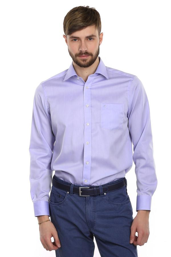Рубашка с длинным рукавом Casa ModaДлинный рукав<br>Рубашка для мужчин от бренда Casa Moda светло-сиреневого цвета. Данная модель выполнена по классическому покрою с длинным рукавом, отложным воротником и нагрудным карманом. Она пошита из материала, который на 100% состоит из хлопка, благодаря этому в ней вы будете чувствовать себя комфортно и легко. Она идеально подходит для офисно-делового стиля.<br><br>Размер RU: 39<br>Пол: Мужской<br>Возраст: Взрослый<br>Материал: хлопок 100%<br>Цвет: Сиреневый
