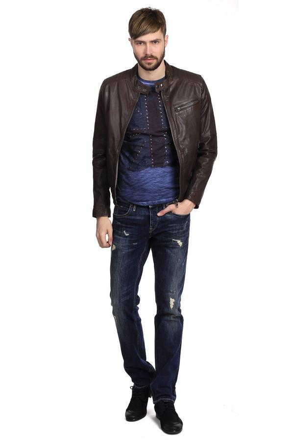 мужские классические джинсы boss orange, синие
