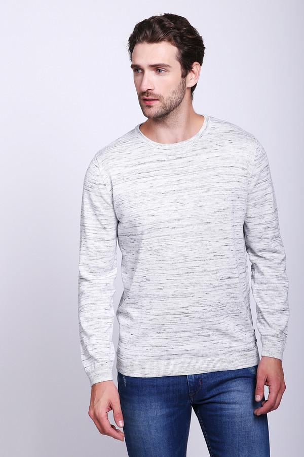 Джемпер Tom TailorДжемперы и Пуловеры<br>Сдержанный мужской джемпер от бренда Tom Tailor светлого серого цвета. Изделие было изготовлено из хлопка и полиэстера. Данная модель предназначена для демисезонного периода. Дополнен не глубоким вырезом и небольшими черными вкраплениями на сером фоне. Джемпер мелкой вязки. Отлично согреет в прохладную погоду и при этом будет смотреться стильно.