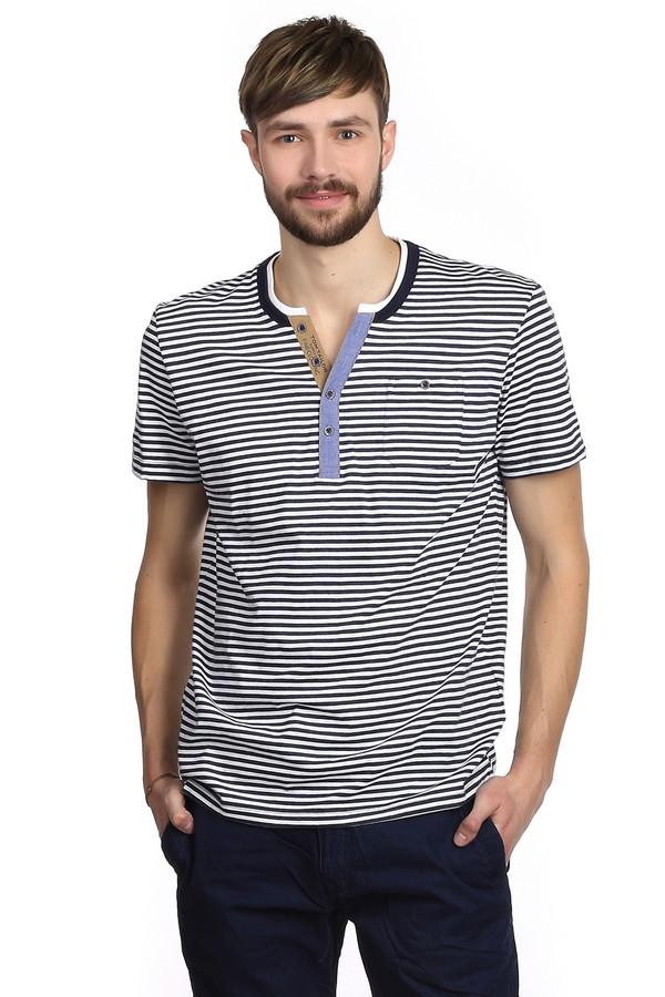 Футболкa Tom TailorФутболки<br>Футболка в черно-белую полоску для мужчин бренда Tom Tailor. Эта футболка сшита по простому крою. Изделие дополнено: круглым вырезом с планкой на пуговицах, рукавами до середины плеча, а также небольшим нагрудным карманом. Вертикальная полоска никогда не выходит из моды, поэтому в этой футболке вы будете всегда стильно выглядеть, не смотря на ее простоту.<br><br>Размер RU: 46-48<br>Пол: Мужской<br>Возраст: Взрослый<br>Материал: полиэстер 20%, хлопок 80%<br>Цвет: Разноцветный