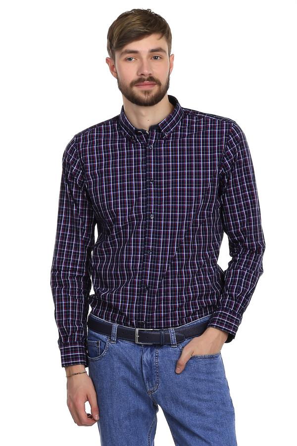 Рубашка с длинным рукавом Tom TailorДлинный рукав<br>Очень модная мужская рубашка от немецкого бренда Tom Tailor приталенного кроя. Изделие дополнено: отложным классическим воротником, планкой на пуговицах и длинными рукавами. Сделана эта рубашка из натурального материала, в составе которого только хлопок. По цвету рубашка темно-синяя, в красно-сине-белую клеточку. Выглядит такая рубашка очень стильно. В повседневной жизни вы можете носить ее на выпуск, но так же она будет вполне уместна в офисе, если заправить ее в брюки.<br><br>Размер RU: 46-48<br>Пол: Мужской<br>Возраст: Взрослый<br>Материал: хлопок 100%<br>Цвет: Разноцветный