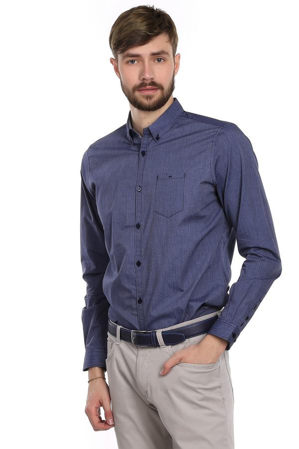 Рубашка с длинным рукавом Tom TailorДлинный рукав<br>Мужская рубашка от немецкого бренда Tom Tailor. Эта рубашка пошита из темно-синей ткани в тонкую белую полоску. Рубашка приталенного кроя с длинным рукавом, нагрудным карманом и воротником баттен-даун. Она сшита из абсолютно натуральной ткани, которая на 100% состоит из хлопка. Рубашка выполнена из качественного материала приятного на ощупь.<br><br>Размер RU: 46-48<br>Пол: Мужской<br>Возраст: Взрослый<br>Материал: хлопок 100%<br>Цвет: Серый