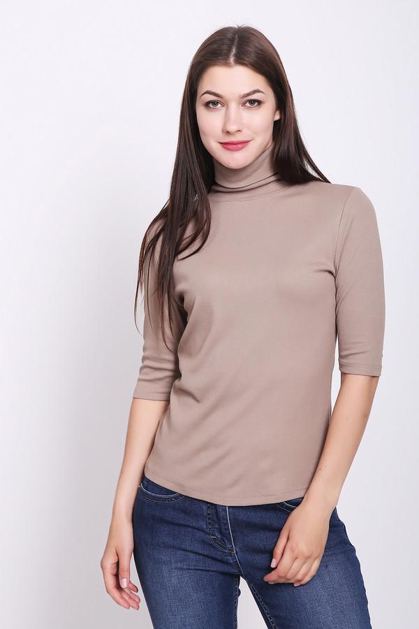 женская футболка pezzo, бежевая