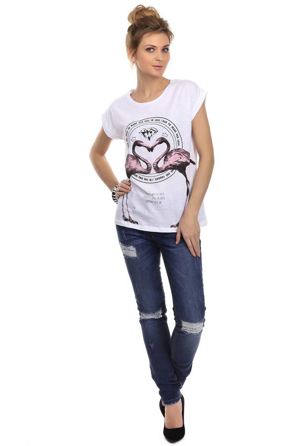 Модные джинсы OuiМодные джинсы<br>Женские джинсы-скинни средней посадки от бренда Oui. Это темно-синие джинсы с эффектом потертости и эффектом скреппинга. Джинсы дополнены двумя передними боковыми карманами и парой задних накладных. Материал — хлопок с добавлением эластана.<br><br>Размер RU: 46<br>Пол: Женский<br>Возраст: Взрослый<br>Материал: хлопок 98%, эластан 2%<br>Цвет: Синий