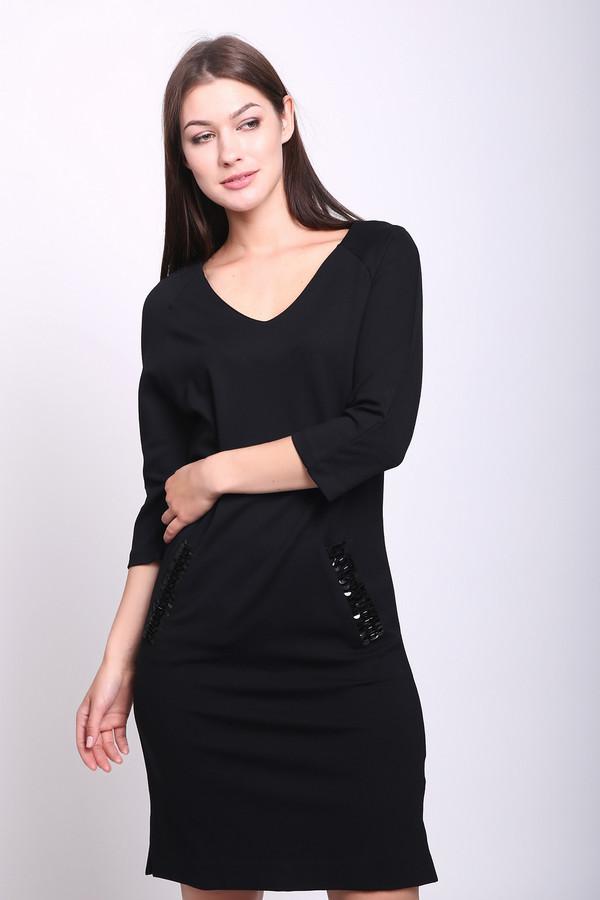 женское платье pezzo, черное