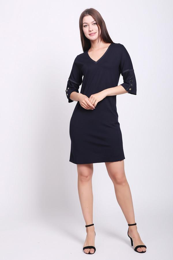 женское платье pezzo, синее