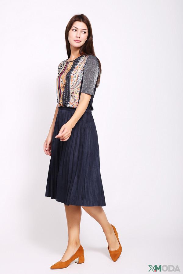 женская юбка pezzo, синяя