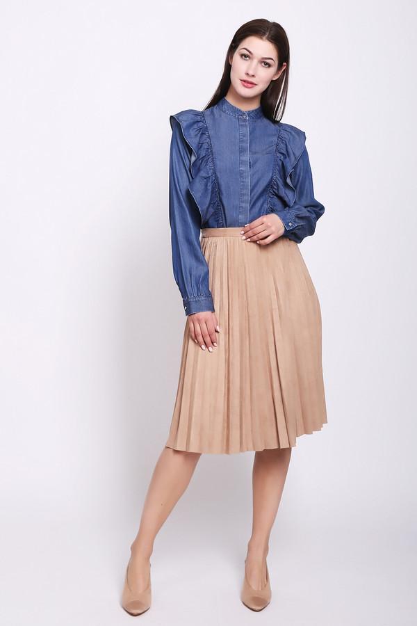 женская юбка pezzo, бежевая