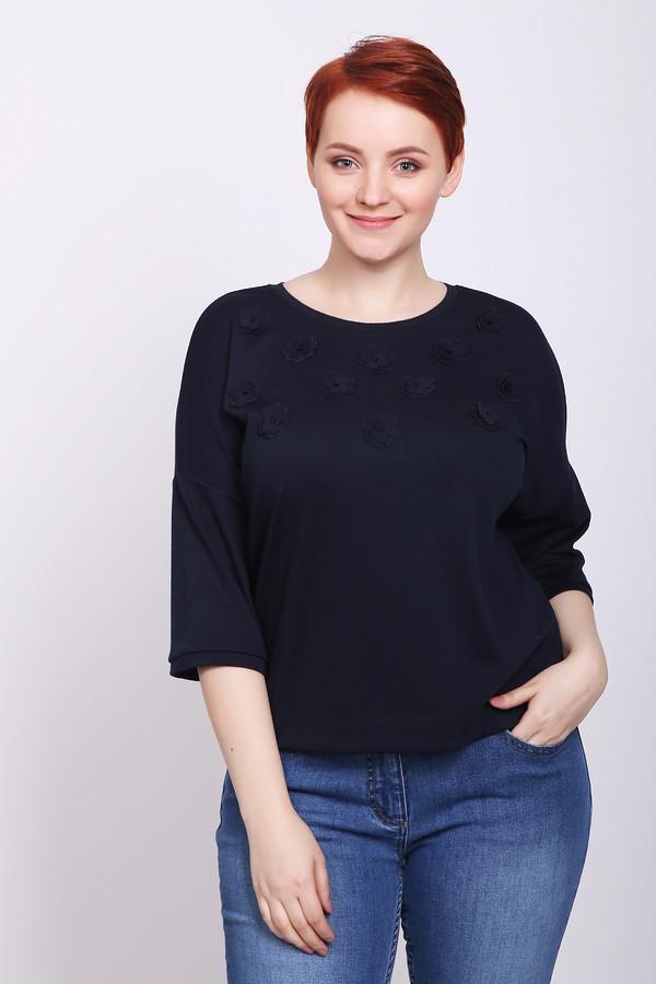 женская футболка pezzo, синяя