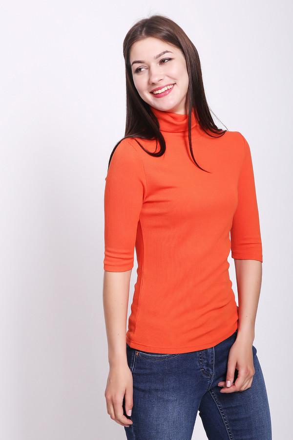 женская футболка pezzo, оранжевая