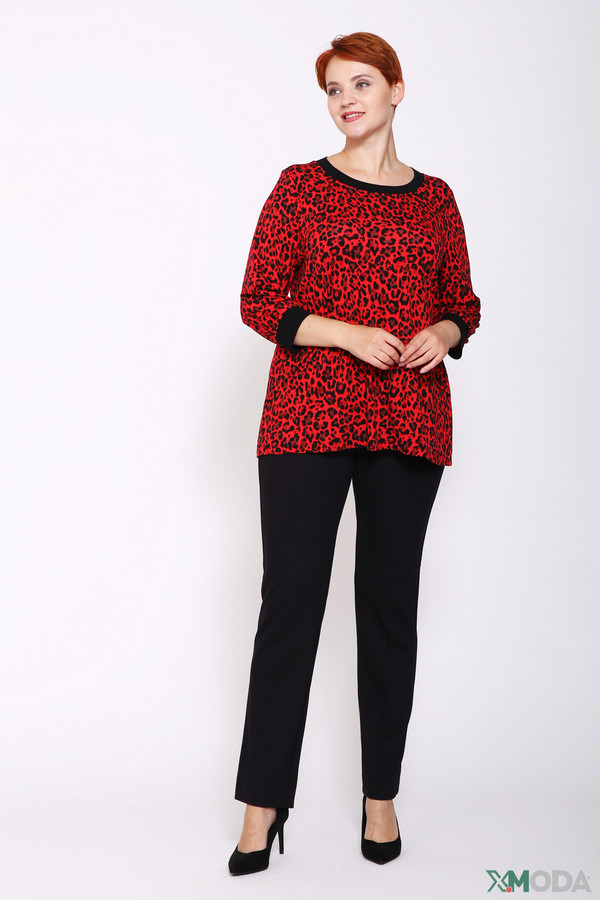 Фото 2 - Женскую футболку Via Appia разноцветного цвета