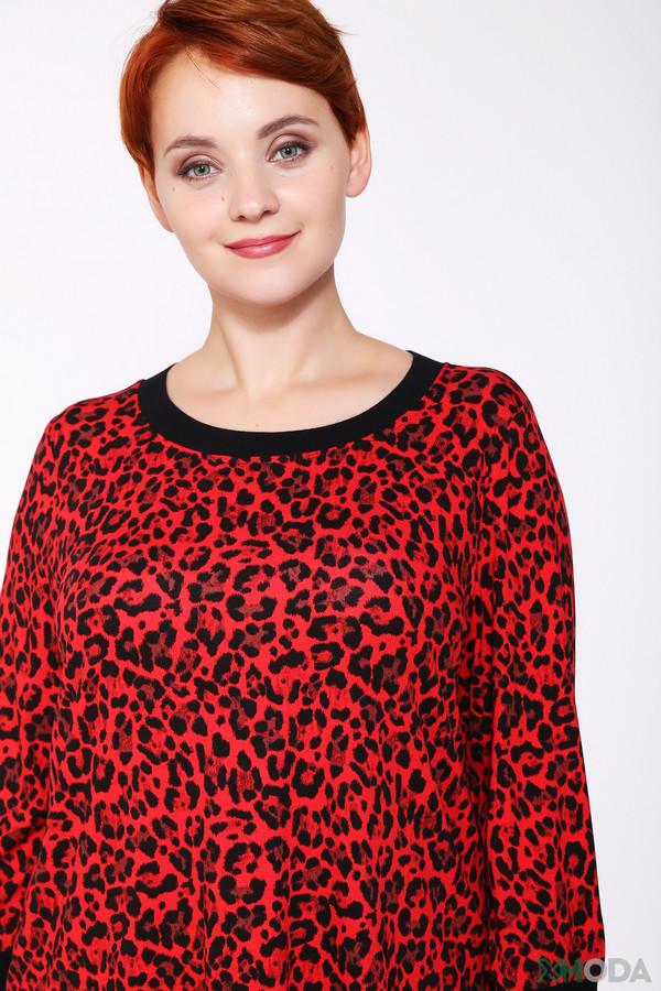 Фото 4 - Женскую футболку Via Appia разноцветного цвета
