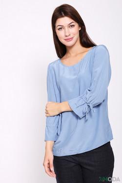 Блузa Oui, цвет голубой, размер 50RU