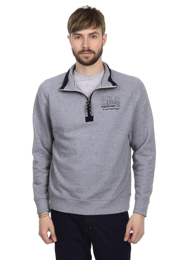 Джемпер MarvelisДжемперы<br>Джемпер для мужчин от бренда Marvelis. Это джемпер светло-серого цвета, выполненный из 100% хлопка. Изделие дополнено отложным воротником на молнии и резинками на рукавах и снизу.<br><br>Размер RU: 46-48<br>Пол: Мужской<br>Возраст: Взрослый<br>Материал: хлопок 100%<br>Цвет: Чёрный