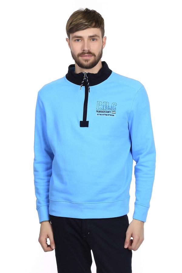 Джемпер MarvelisДжемперы<br>Джемпер для мужчин от бренда Marvelis. Это джемпер голубого цвета, выполненный из 100% хлопка. Изделие дополнено отложным воротником на молнии и резинками на рукавах и снизу.<br><br>Размер RU: 54-56<br>Пол: Мужской<br>Возраст: Взрослый<br>Материал: хлопок 100%<br>Цвет: Чёрный