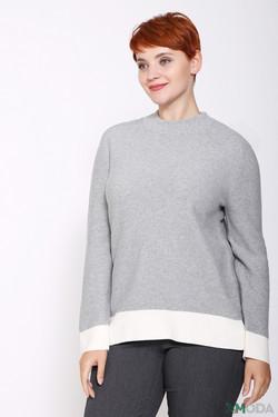 Пуловер Via Appia, цвет серый, размер 46RU