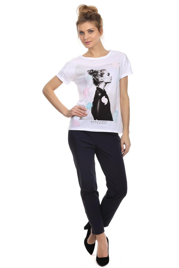 Брюки Betty BarclayБрюки<br>Женские брюки-дудочки черного цвета. Брюки выполнены из смеси хлопка и полиамида, с небольшим процентом эластана. Изделия дополнено широким поясом и боковыми молниями на нижней части штанин, а также застежкой-молнией сбоку на поясе.<br><br>Размер RU: 48<br>Пол: Женский<br>Возраст: Взрослый<br>Материал: эластан 5%, полиамид 47%, хлопок 48%<br>Цвет: Чёрный