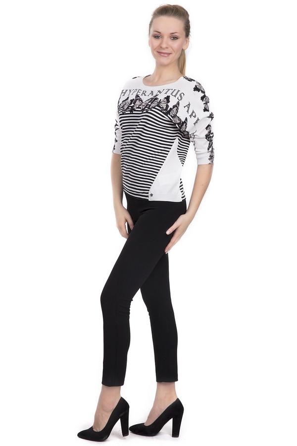Брюки Sai-KuБрюки<br>Женские брюки-скинни длиной до середины голени от бренда Sai-Ku. Данные брюки средней посадки, черного цвета и застегиваются на боковую молнию. Материал - полиэстер с добавлением эластана.<br><br>Размер RU: 44<br>Пол: Женский<br>Возраст: Взрослый<br>Материал: эластан 5%, полиэстер 95%<br>Цвет: Чёрный