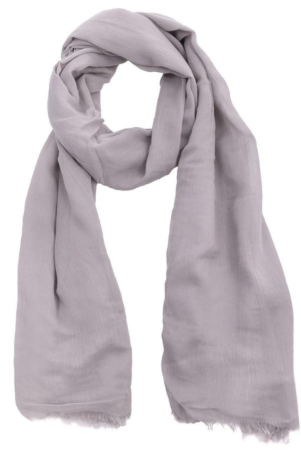 Шарф CodelloШарфы<br>Оригинальный женский шарф от бренда Codello светлого серого цвета. Данное изделие выполнено из вискозы и хлопка. Эта модель предназначена для демисезонного периода. Этот женский шарф очень длинный. Такой аксессуар будет и красивым акцентом, и согревать в ветреную погоду.<br><br>Размер RU: один размер<br>Пол: Женский<br>Возраст: Взрослый<br>Материал: вискоза 80%, хлопок 20%<br>Цвет: Серый