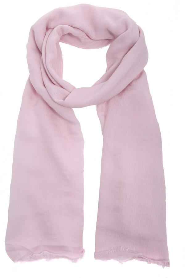 Шарф CodelloШарфы<br>Оригинальный женский шарф от бренда Codello светлого розового цвета. Изделие выполнено из вискозы и хлопка. Данная модель предназначена для демисезонного периода. Такой женский шарф очень длинный. Такой аксессуар будет и красивым акцентом, и согревать в ветреную погоду.<br><br>Размер RU: один размер<br>Пол: Женский<br>Возраст: Взрослый<br>Материал: вискоза 80%, хлопок 20%<br>Цвет: Розовый