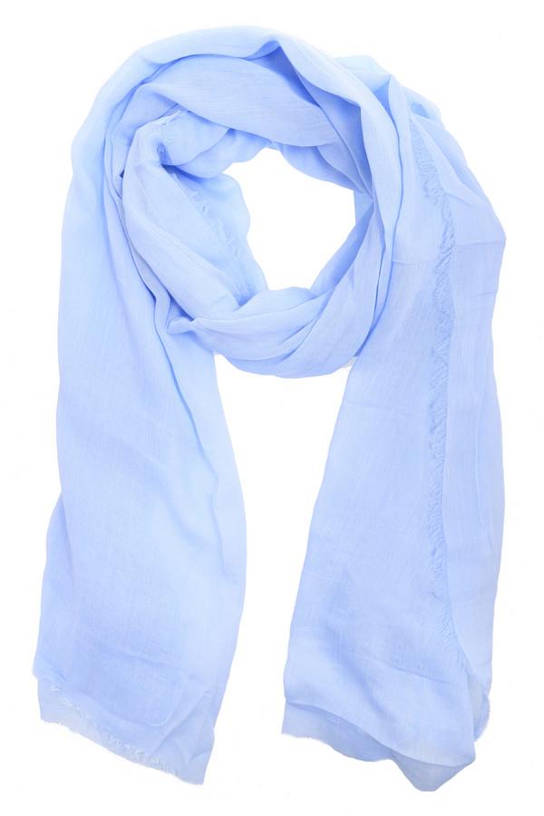 Шарф CodelloШарфы<br>Стильный женский шарф от бренда Codello нежного голубого цвета. Это изделие выполнено из вискозы и хлопка. Данная модель предназначена для демисезонного периода. Этот женский шарф очень длинный. Такой аксессуар будет и красивым акцентом, и согревать в ветреную погоду.<br><br>Размер RU: один размер<br>Пол: Женский<br>Возраст: Взрослый<br>Материал: вискоза 80%, хлопок 20%<br>Цвет: Голубой
