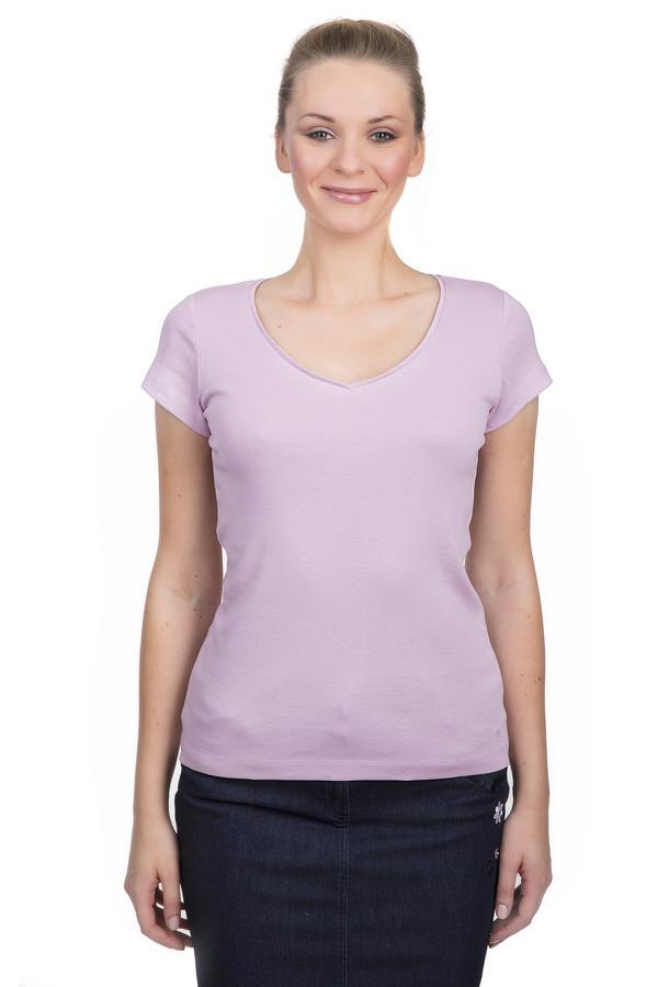 Футболка s.OliverФутболки<br>Женская хлопковая футболка от бренда s.Oliver. Футболка выполнена в светло-сиреневом оттенке по классическому крою с коротким рукавом и округлым V-образным вырезом.<br><br>Размер RU: 40<br>Пол: Женский<br>Возраст: Взрослый<br>Материал: хлопок 100%<br>Цвет: Сиреневый