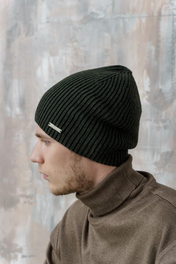 мужская шапка john trigger, зеленая