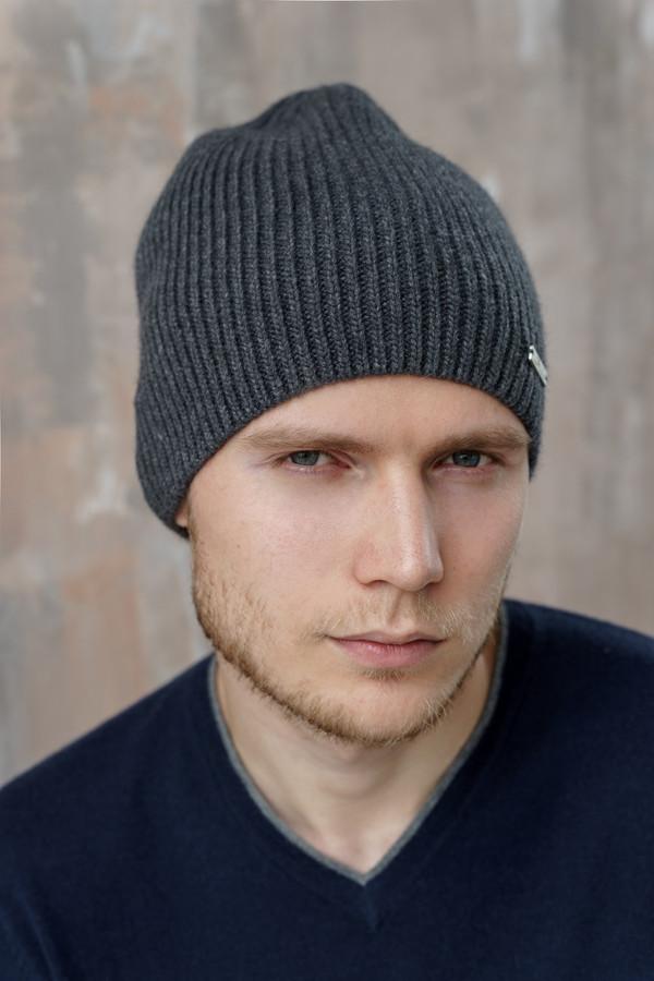 мужская шапка john trigger, серая