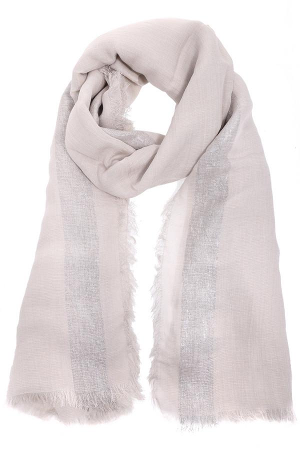 Шарф BraxШарфы<br>Стильный женский шарф от бренда Brax розового и серебристого цветов. Данная модель была сделана из метала, шелка, модала и льна. Это изделие предназначено для демисезонного периода. Дополнено серебристыми вставками. Этот шарф может быть использован как шаль или накидка в прохладную погоду. При этом, изделие является стильным решением для повседневного образа.<br><br>Размер RU: один размер<br>Пол: Женский<br>Возраст: Взрослый<br>Материал: металл 5%, шелк 5%, модал 14%, лен 76%<br>Цвет: Серебристый