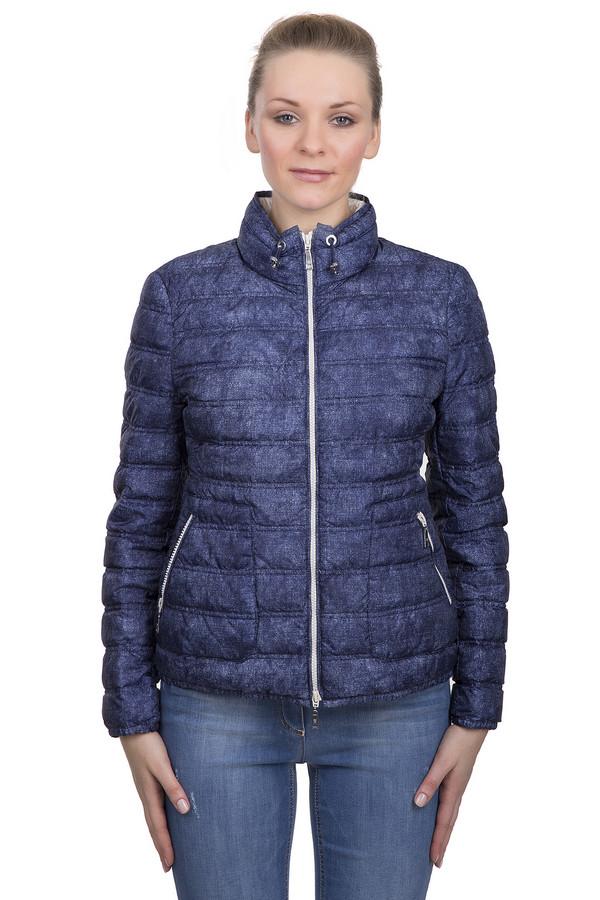 Куртка BaslerКуртки<br>Стильный брендовый пуховик синего цвета, от бренда Basler. Это короткий женский пуховик, дополненный боковыми карманами на молнии и резинками на воротнике. Данная куртка сделана из 100% полиэстера.<br><br>Размер RU: 52<br>Пол: Женский<br>Возраст: Взрослый<br>Материал: полиэстер 100%<br>Цвет: Синий
