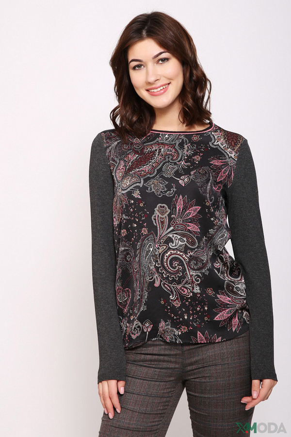 женский пуловер gerry weber, серый