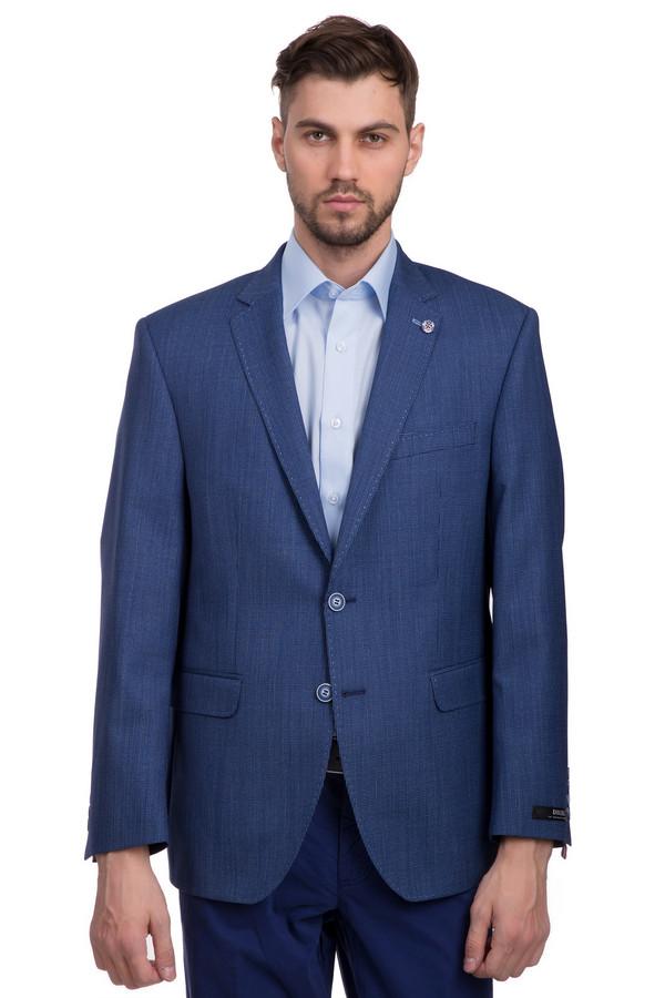 Пиджак DigelПиджаки<br>Пиджак на пуговицах для мужчин, от бренда Digel. Данная модель представлена в синем цвете, и сшита из 100% шерсти. Изделие дополнено отложным воротником с лацканами, классическим нагрудным карманом, а также двумя боковыми карманами.<br><br>Размер RU: 50L<br>Пол: Мужской<br>Возраст: Взрослый<br>Материал: шерсть 100%<br>Цвет: Голубой