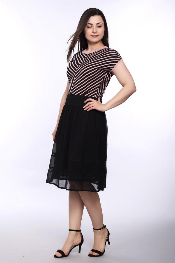 женская юбка steilmann, черная