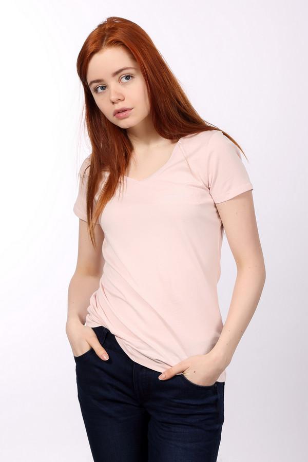 Футболка s.OliverФутболки<br>Футболка для женщин от бренда s.Oliver, выполненная в светло-розовом цвете. Она пошита из 100% хлопка по классическому крою с V-образным вырезом и рукавом длиной до середины плеча. Изделие дополнено нагрудным карманом.<br><br>Размер RU: 44<br>Пол: Женский<br>Возраст: Взрослый<br>Материал: хлопок 100%<br>Цвет: Розовый