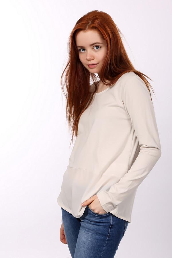 Блузa s.OliverБлузы<br>Модная женская блуза от бренда s.Oliver. Это блуза простого покроя, с круглым вырезом, длинными рукавами и пуговицами на спине. Изделие выполнено из смеси хлопка и модала. Данная модель представлена в молочном цвете.<br><br>Размер RU: 48<br>Пол: Женский<br>Возраст: Взрослый<br>Материал: хлопок 50%, модал 50%<br>Цвет: Белый