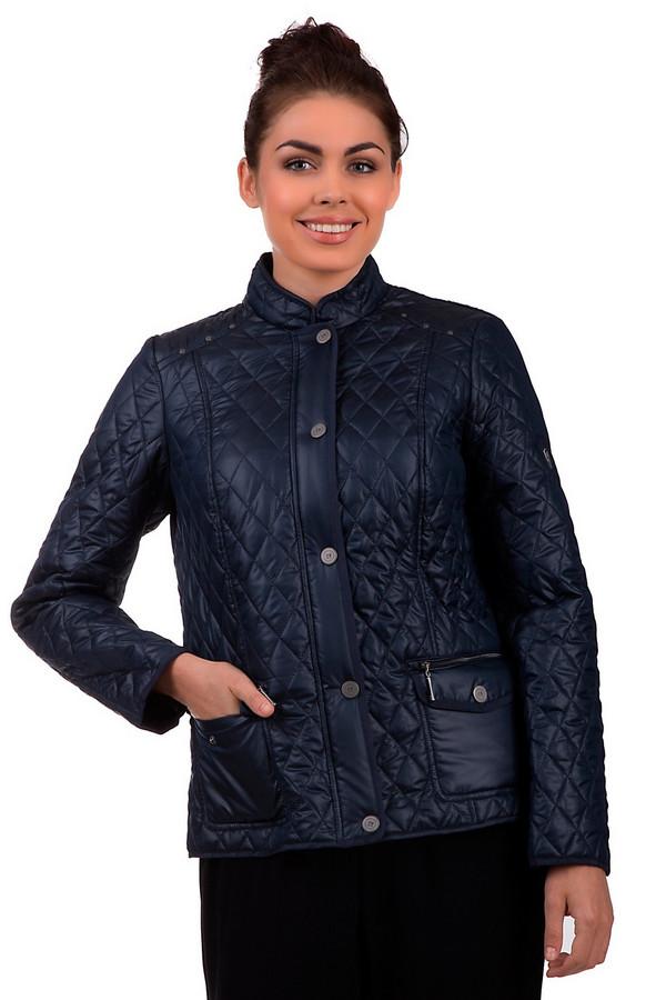 Куртка LebekКуртки<br>Демисезонная куртка Lebek темно- синего цвета. Дополнена металлическими круглыми вставками, что подчеркивают плечи. По бокам карманы с молнией и пуговицами. У изделия двойная застежка: снизу на молнии, сверху на пуговицы. Сзади куртка дополнена шнурком для подчеркивания талии. Куртка сделана из полиэстера. Синий цвет изделия близок к черному, это делает его базовой вещью в межсезонье.<br><br>Размер RU: 44<br>Пол: Женский<br>Возраст: Взрослый<br>Материал: полиэстер 100%<br>Цвет: Синий
