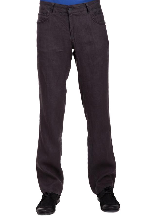 Брюки Flavio NavaБрюки<br>Мужские льняные брюки от бренда Flavio Nava. Брюки выполнены в темно-сером цвете по прямому покрою. Это слегка удлиненные брюки средней посадки, дополненные четырьмя боковыми передними карманами и двумя задними.<br><br>Размер RU: 50(L34)<br>Пол: Мужской<br>Возраст: Взрослый<br>Материал: лен 100%<br>Цвет: Серый
