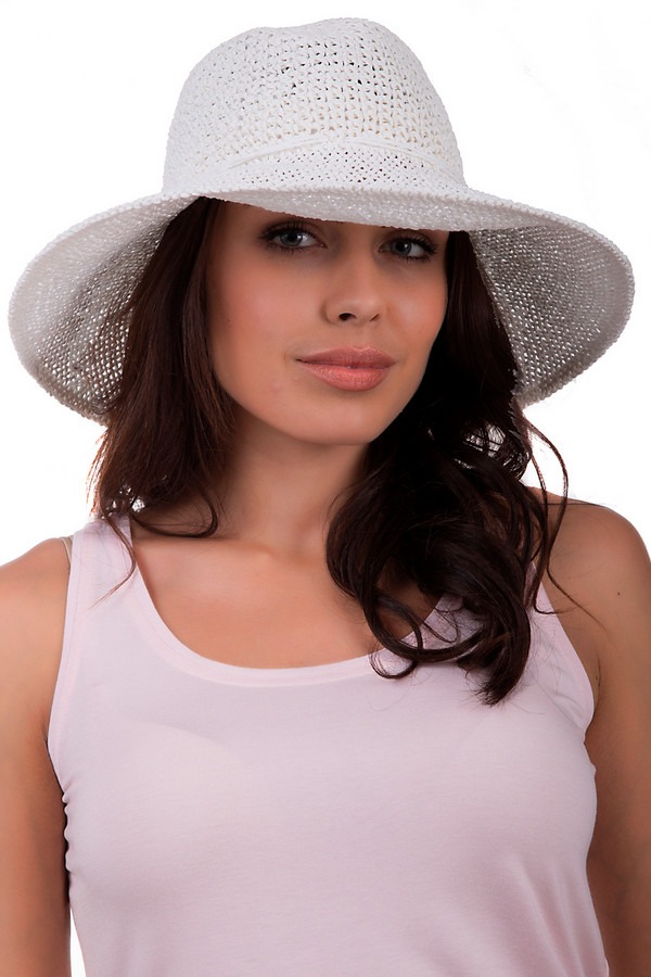 Шляпа SeebergerШляпы<br>Оригинальная женская шляпа от бренда Seeberger белого цвета. Это изделие выполнено из бумаги. Данная модель предназначена для летнего сезона. Эта шляпа широкополая. Защитит от ультрафиолетовых лучей. Оригинальная шляпа сочетается с разными стилями и фактурами. Придаст летнему образу утонченности и легкости.<br><br>Размер RU: один размер<br>Пол: Женский<br>Возраст: Взрослый<br>Материал: бумага 100%<br>Цвет: Белый
