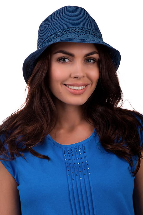 женская шляпа seeberger, синяя